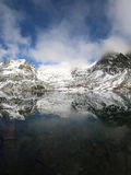 Beautiful mountain lake in High Tatras Stock Images