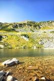 Beautiful Mountain Lake Landscape Stock Photo