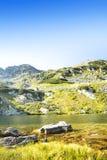 Beautiful Mountain Lake Landscape Royalty Free Stock Photos
