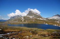 Beautiful mountain lake in Norway Royalty Free Stock Photo
