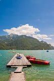 Beautiful mountain lake Stock Photos