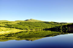 Beautiful Mountain lake Royalty Free Stock Photography