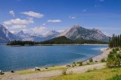 Beautiful mountain Lake views Stock Photos