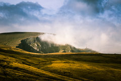 A beautiful mountain landscape in Carpathian mountains Stock Photography