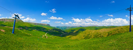 Beautiful mountain landscape, Caucasus, Royalty Free Stock Image