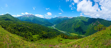 Beautiful mountain landscape, Caucasus Stock Photos