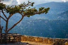 Beautiful mountain landscape, Crete, Greece Stock Photos