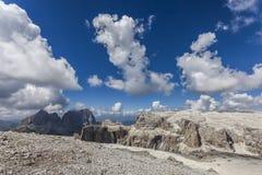 A beautiful mountain landscape - Dolomites, Italy Stock Image