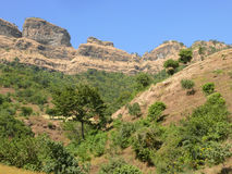 Beautiful mountain landscape in Ethiopia. Africa. Royalty Free Stock Images