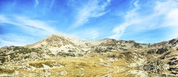 Beautiful Mountain Landscape with Lake Reflection Royalty Free Stock Image