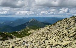 Beautiful mountain landscape. Mountains are Stock Photos