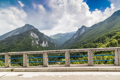 Beautiful mountain landscape. Mountain landscape with beautiful nature and clean air Stock Photos