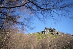 Beautiful mountain landscape, nature and wildlife photo Stock Images