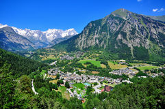 Beautiful mountain landscape in northern Italy Royalty Free Stock Photo