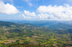Beautiful mountain landscape in Northern Thailand Stock Images