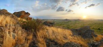 Beautiful mountain landscape, panorama Royalty Free Stock Photography