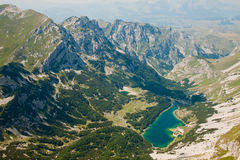 Beautiful mountain landscape. Skrka Lake in National park Durmit Stock Images