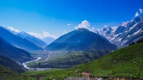 Beautiful mountain landscape of Sonamarg, Jammu and Kashmir state, Stock Photo