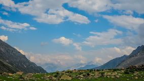 Beautiful mountain landscape of Sonamarg, Jammu and Kashmir state,. India stock photos