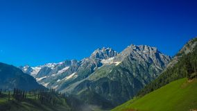 Beautiful mountain landscape of Sonamarg, Jammu and Kashmir state, Stock Photos