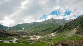 Beautiful mountain landscape of Sonamarg, Jammu and Kashmir state, Royalty Free Stock Photos