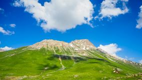 Beautiful mountain landscape of Sonamarg, Jammu and Kashmir state,. India Royalty Free Stock Photography