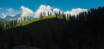 Beautiful mountain landscape of Sonamarg, Jammu and Kashmir state,. India royalty free stock photo