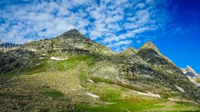 Beautiful mountain landscape of Sonamarg, Jammu and Kashmir state,. India Stock Photos