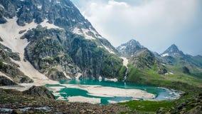 Beautiful mountain landscape of Sonamarg, Jammu and Kashmir state, Royalty Free Stock Photo