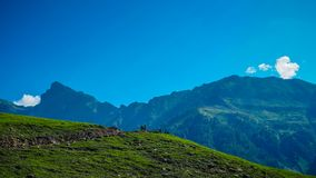 Beautiful mountain landscape of Sonamarg, Jammu and Kashmir state,. India Stock Images