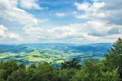Beautiful mountain landscape in summer stock photo