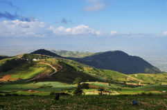 Beautiful mountain landscape. Of summer travel Stock Photography