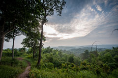 Beautiful mountain landscape. In Thailand Royalty Free Stock Photo