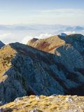 Beautiful mountain landscape. View of Lovcen National Park, Montenegro Stock Image