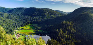 Beautiful mountain landscape in Vosges, France Stock Images