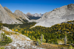 Beautiful mountain landscapes in Autumn Stock Image