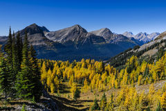 Beautiful mountain landscapes in Autumn Stock Photo