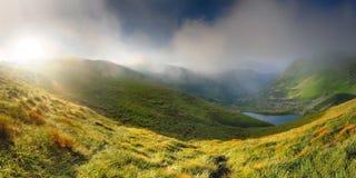 Beautiful mountain lanscape Stock Photos