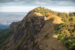 Beautiful mountain in Monjong, Chiang Mai, Thailand Royalty Free Stock Photography