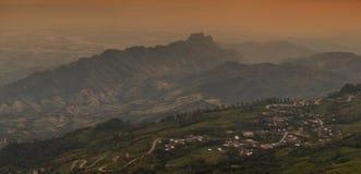 Beautiful mountain in nature Stock Photo