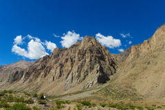 Beautiful mountain near Aconcagua peak Stock Photography
