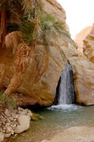 Beautiful mountain oasis in Tunisia Stock Photo