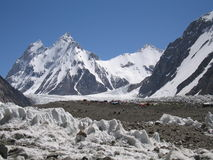 Beautiful mountain (Pakistan) Royalty Free Stock Images