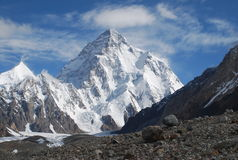 Beautiful mountain (Pakistan) Royalty Free Stock Photos