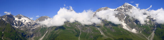 Beautiful mountain panorama Royalty Free Stock Image