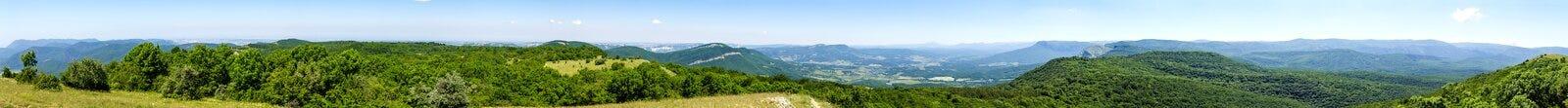 Beautiful mountain panorama Royalty Free Stock Photos