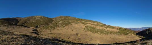 Beautiful mountain panorama Stock Photography