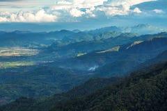 Beautiful Mountain Range Royalty Free Stock Photos