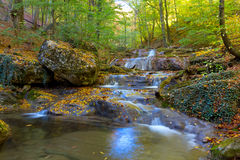 Beautiful mountain river Royalty Free Stock Photography