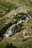 A beautiful mountain river landscape in Tatry. Slovakia royalty free stock photography